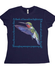 Ruby Throated Hummingbird Poem