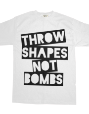 Throw Shapes Not Bombs