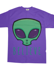 Believe Alien Head