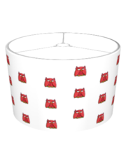 Red Owl Lampshade
