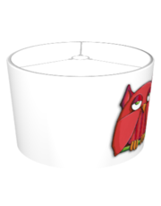 Red Owl big Lampshade