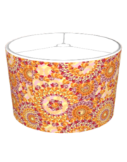 Floribunda Paisley C in Yellow Lampshade