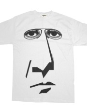 Graphic Face Eye Glasses Shirt