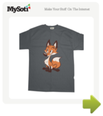 Vulpes vulpes tee by HenriekeG. Available from MySoti.com.
