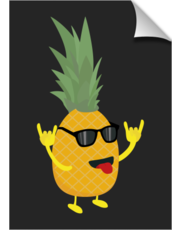 rock'n'roll pineapple