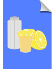 Salt, lemon and tequila