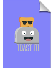 Toaster with cool bread