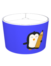 Penguin with pen