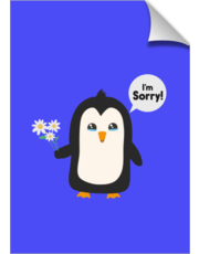 Penguin apology