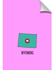 Wyoming State Heart