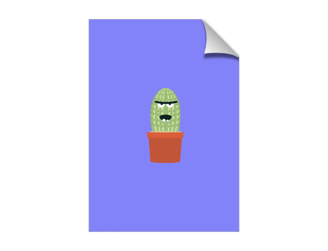 Angry cactus