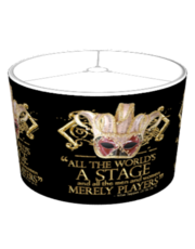 Shakespeare As You Like It Quote Lampshade