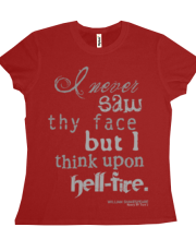 Shakespeare's Henry IV, Part I Hell Fire Quote