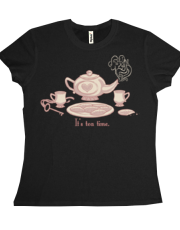 Chester 5000 Tea Time shirt- Ladies