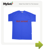 idiot servant tee by joanpsmith. Available from MySoti.com.
