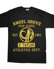 Angel Grove H.S. (Black Ranger Edition)