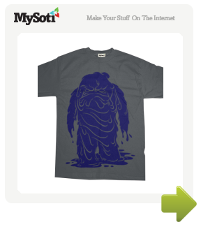 Sludge tee by jonsperry. Available from MySoti.com.