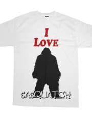 I Love Sasquatch Bigfoot T-Shirt