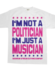 I'm not a politician