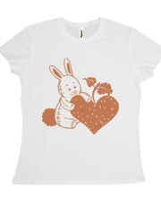 Valentine Rabbit with Heart