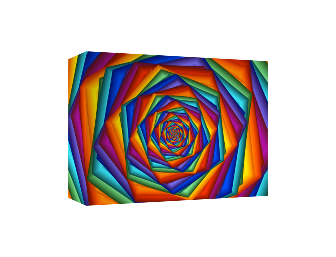 Psychedelic Rainbow Spiral