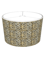 KRW Steampunk Squares Lampshade (Steampunk Series)