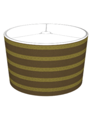 KRW Steampunk Stripe Lampshade (Steampunk Series)