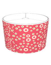 KRW Raspberry Lime Floral Lampshade (Raspberry Lime Floral Series)