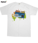 Ghetto Blaster tee by laindemacias. Available from MySoti.com.