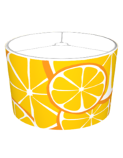 Summer Citrus Orange Lampshade- Bold