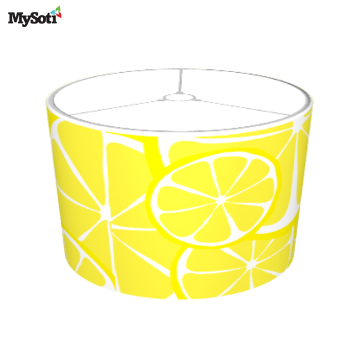 Mysoti lmhdesigns summer citrus lemon lampshade bold lampshade product blog aloadofball Image collections