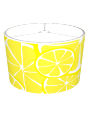 Summer Citrus Lemon Lampshade - Bold