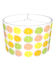 Summer Citrus Lampshade - Retro