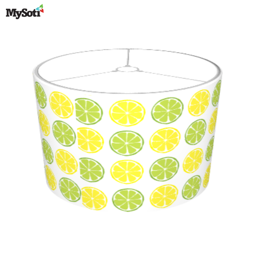 Mysoti lmhdesigns summer citrus lemonlime lampshade retro product blog aloadofball Image collections