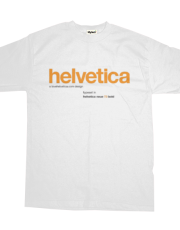 LoveHelvetica Orange 73