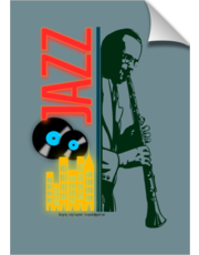 Jazz mood poster
