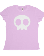 Cute Skull (White) for LADIES!