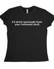 Lemonade Skull for LADIES!