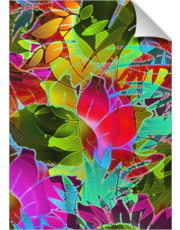 Floral Abstract Artwork