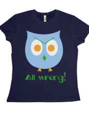 All Wrong! Owl for chicks