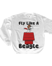 Snoopy Flying Sweatshirt