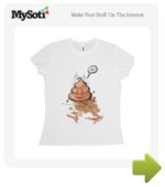 Poo tee by Mythfits. Available from MySoti.com.