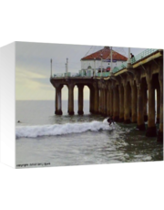 Surfing - Manhattan Beach Pier