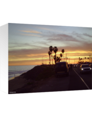 Almost Sunset on the PCH