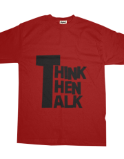 Think then talk
