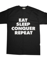 Eat, sleep, conquer, repeat