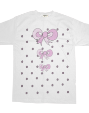 Dotty Bow T Shirt