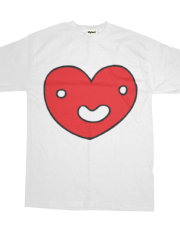 Heart Face T Shirt