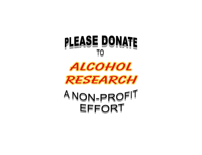 Alcohol Research for lights
