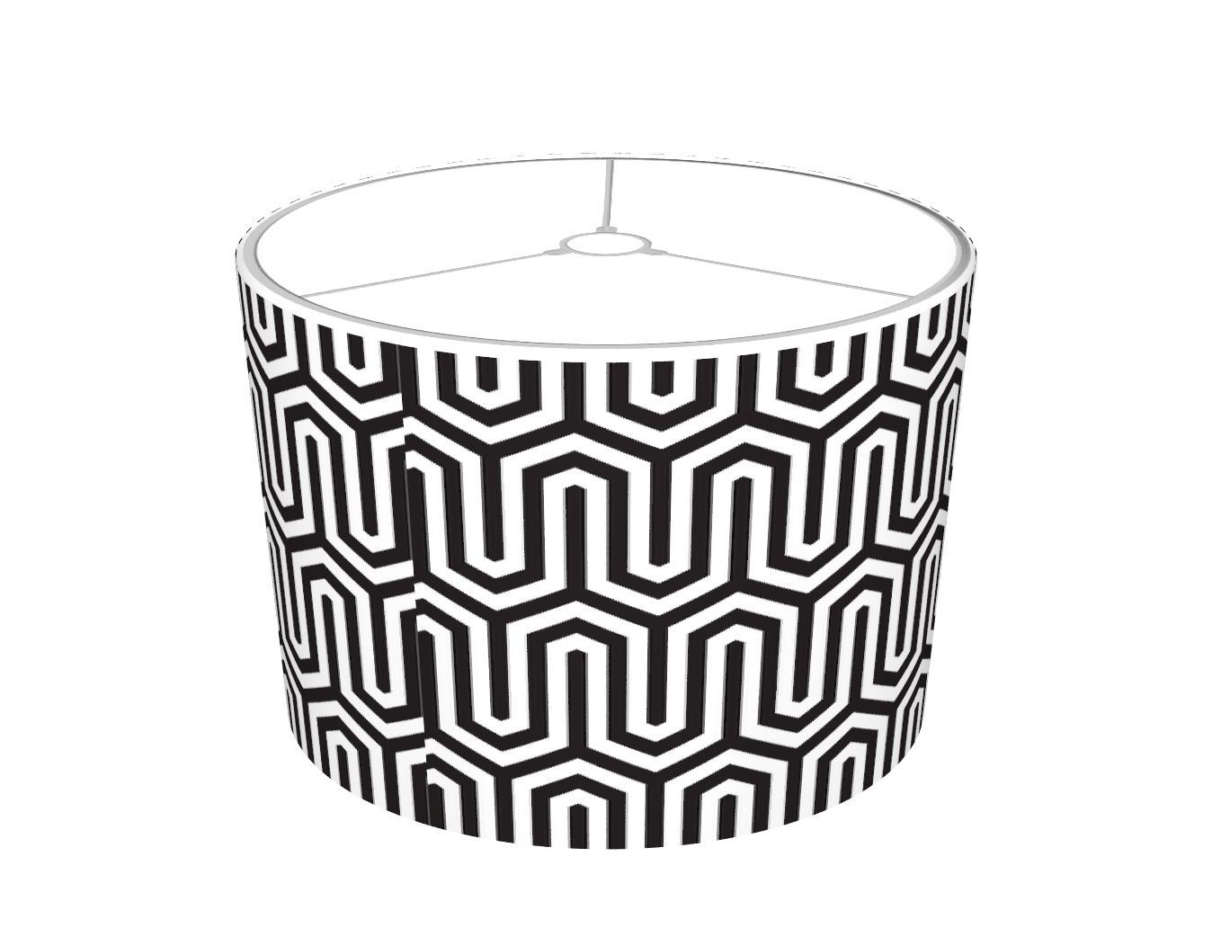 Mysoti pineandberry egyptian black and white pattern lamp egyptian black and white pattern lamp shades aloadofball Image collections